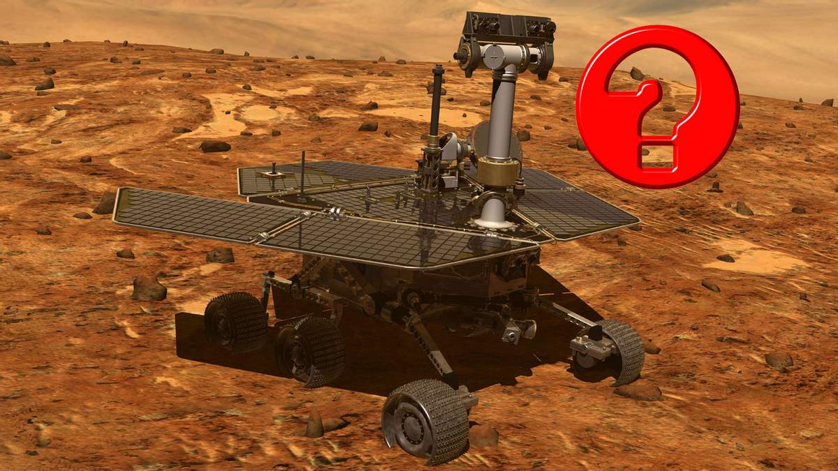 В NASA потеряли марсоход