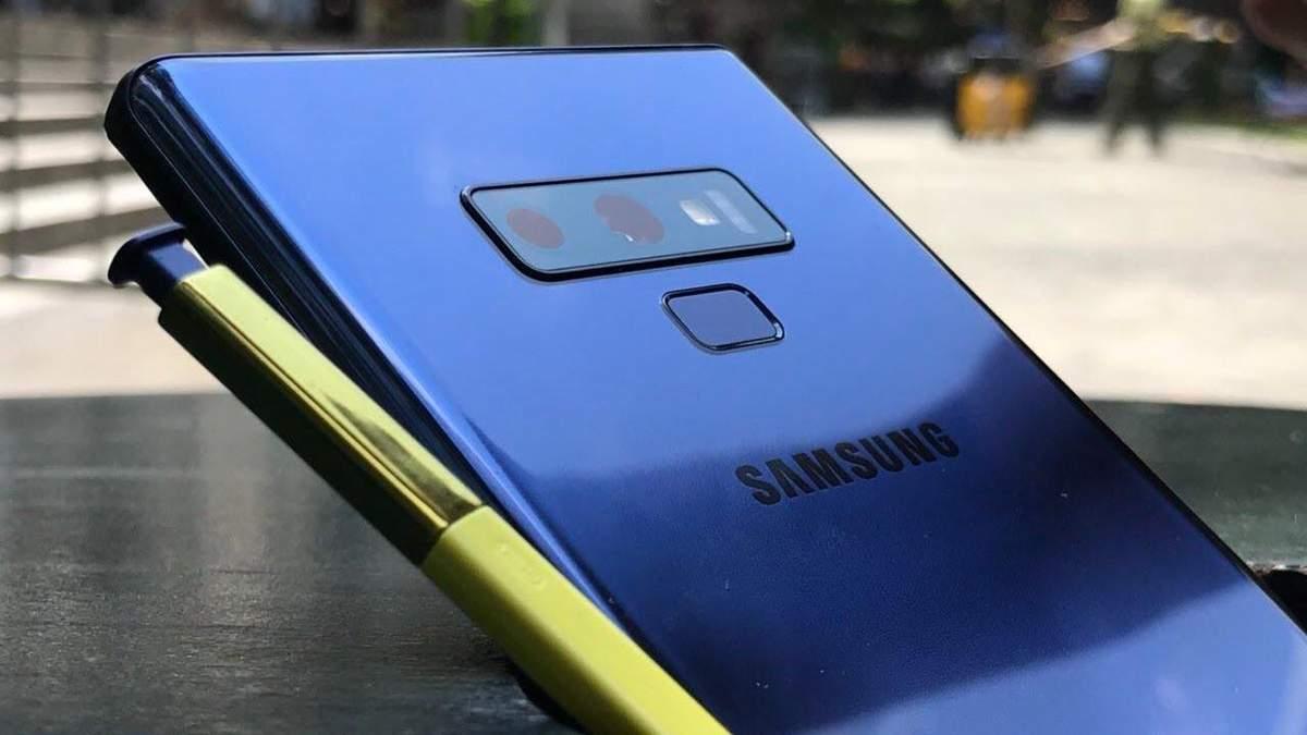 Samsung Galaxy Note 9: тест камери