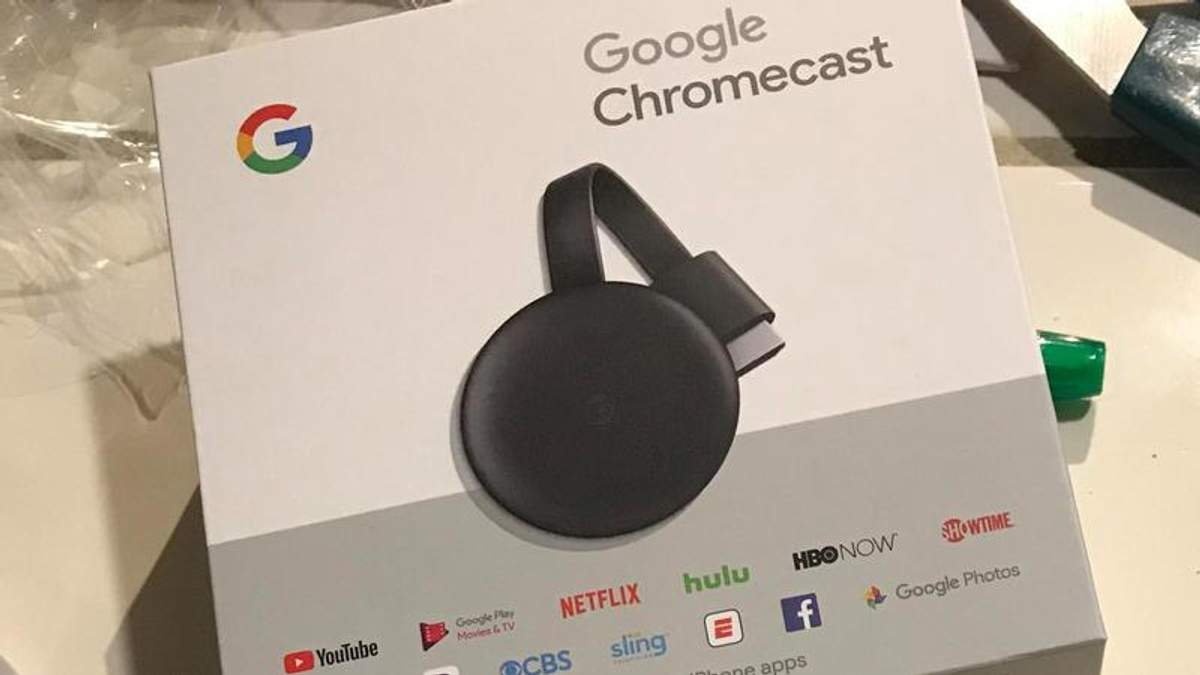 Google Chromecast 3: ціна, фото, дата презентації медіаплеєра