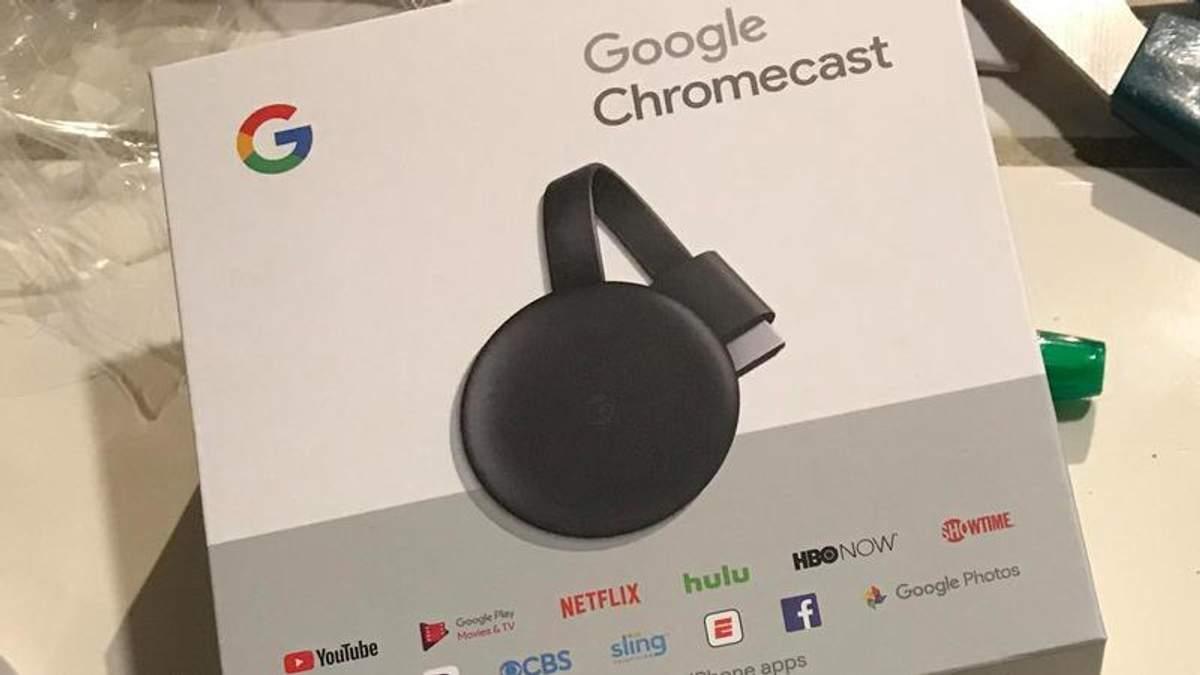 Google Chromecast 3: цена, фото, дата презентации медиаплеера
