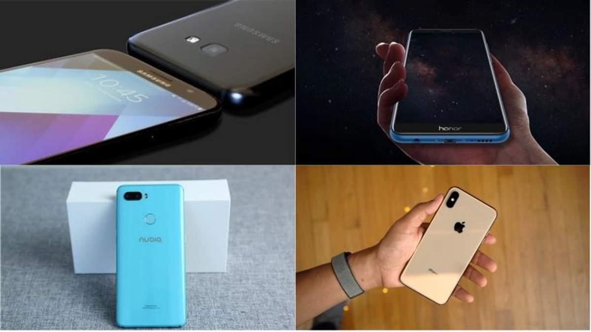 Лучшие смартфоны сентября