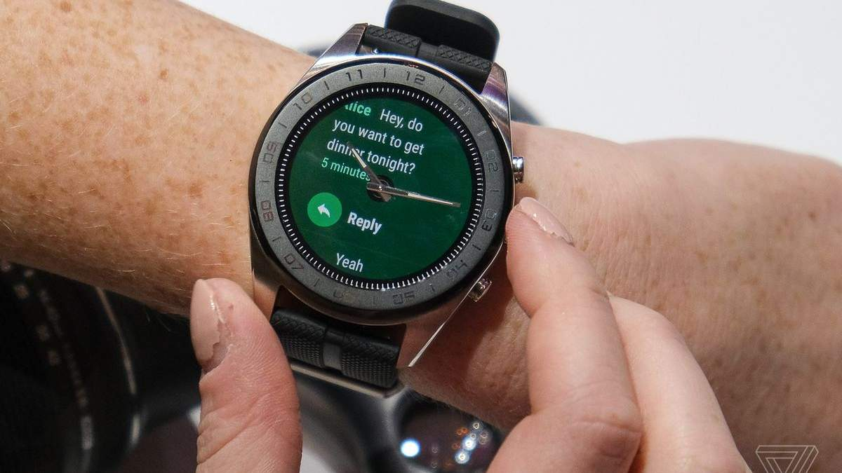 Смарт-часы LG Watch W7.