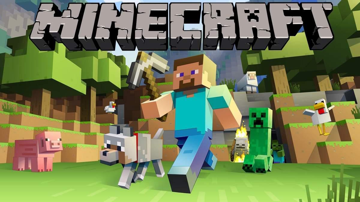 Microsoft похизувалася новим неймовірним рекордом гри Minecraft