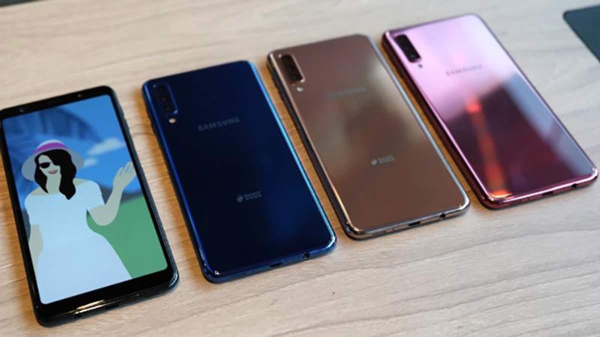 Samsung Galaxy A9 (2018) з чотирма камерами: ціна, огляд