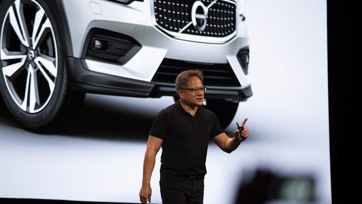 NVIDIA розробить новий бортовий комп'ютер для автомобілів Volvo