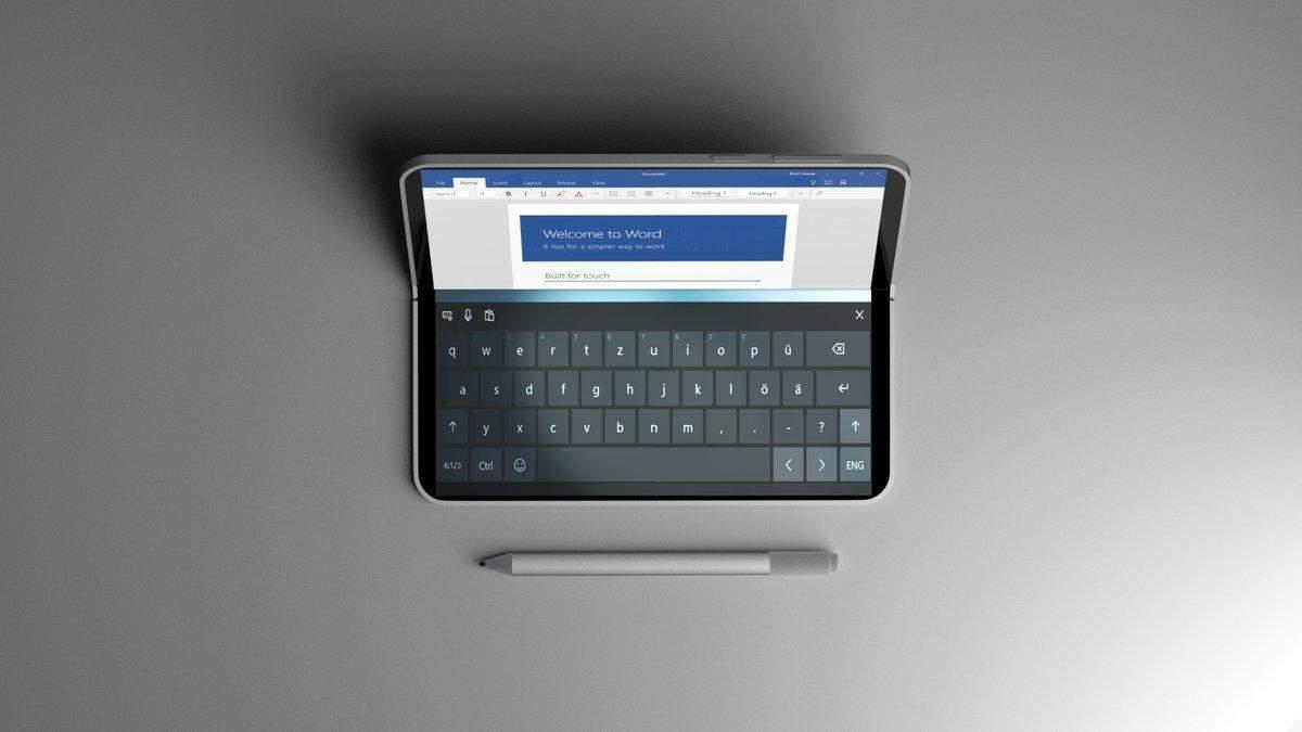 З'явилися нові подробиці про гнучкий смартфон Microsoft Andromeda
