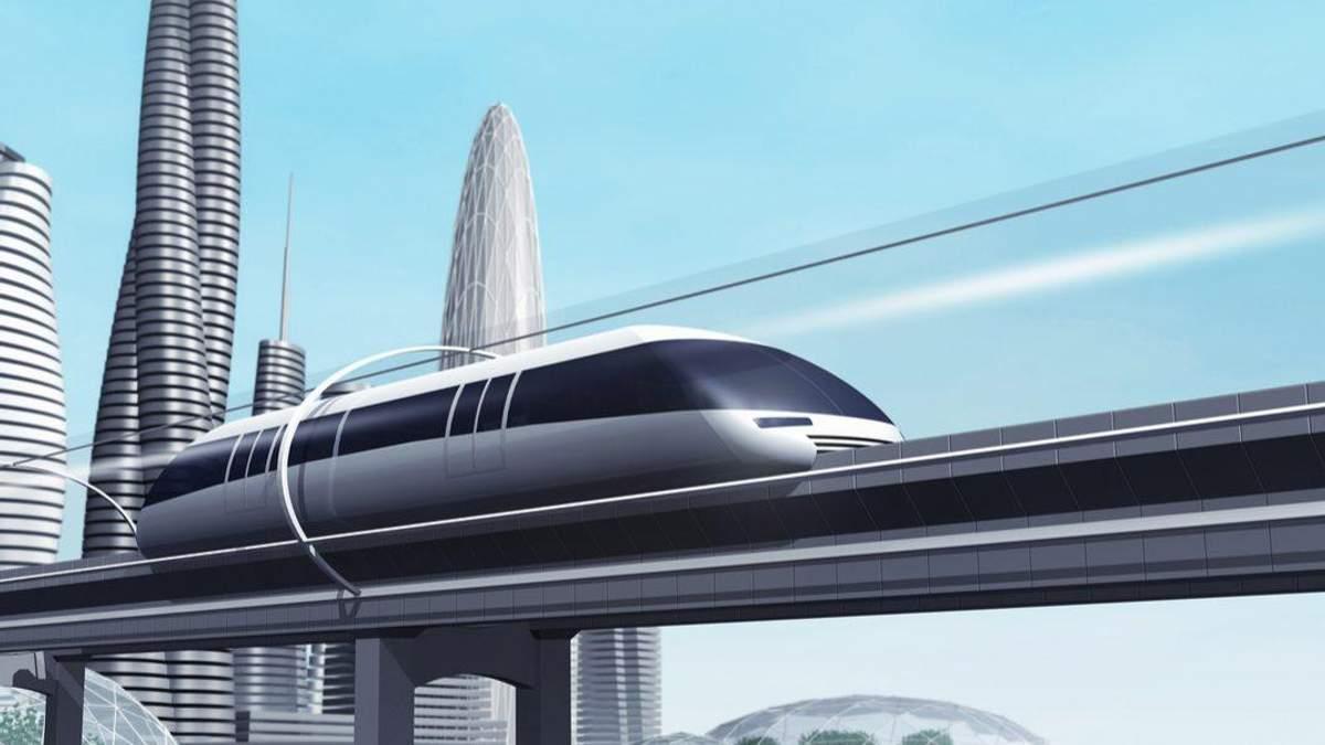 Hyperloop в Україні: коли побудують надшвидкісний потяг