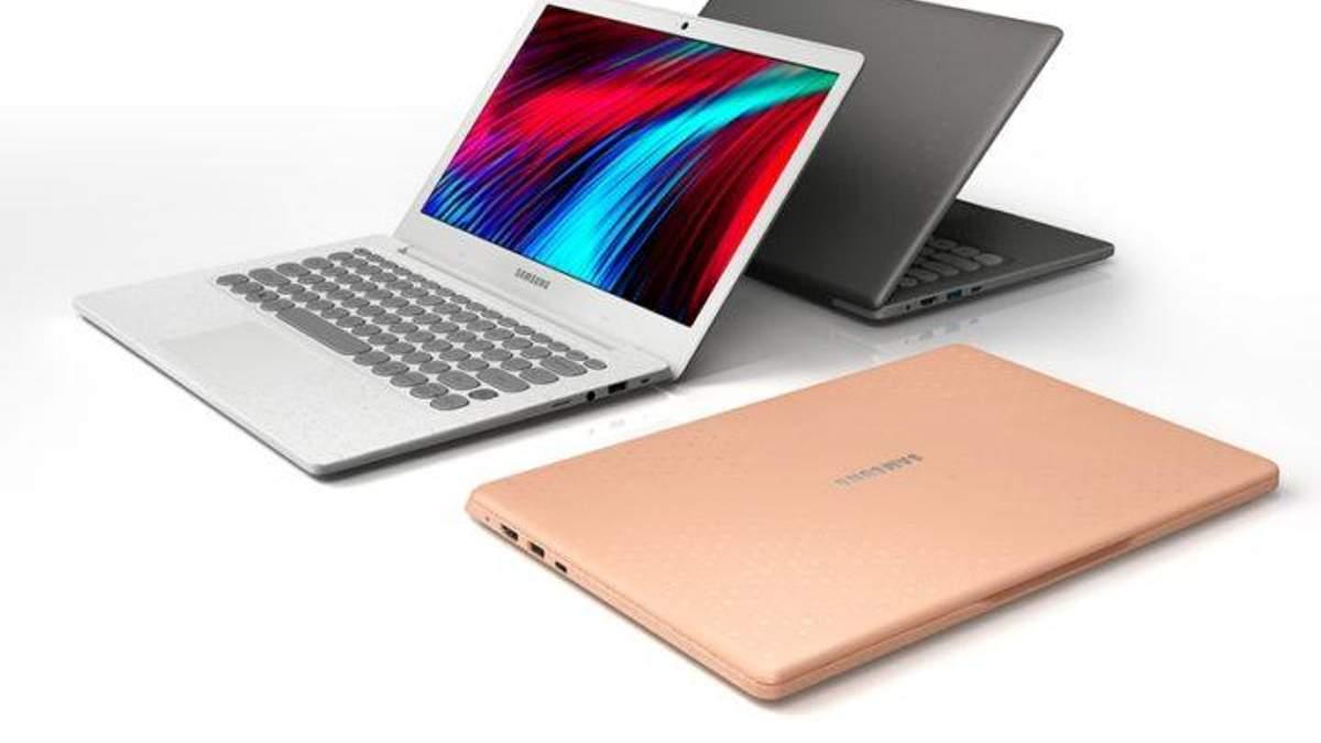 Samsung представила ретро-ноутбук Notebook Flash: видео