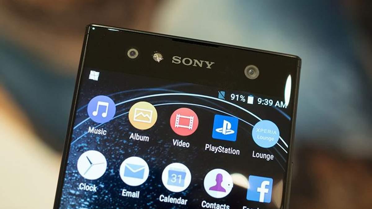 Підтвердили дизайн смартфонів Sony Xperia XA3 та XA3 Ultra