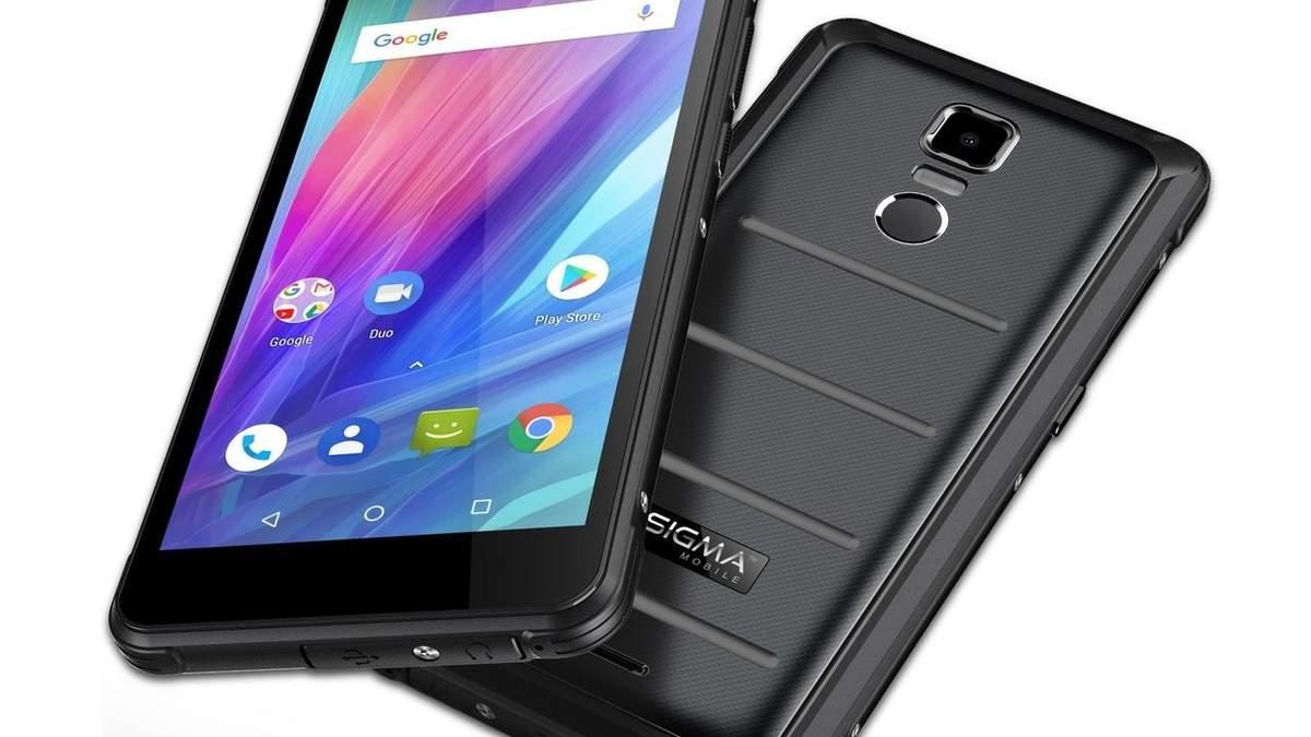 Sigma mobile запустила продаж X-treme PQ37 в Україні: ціна