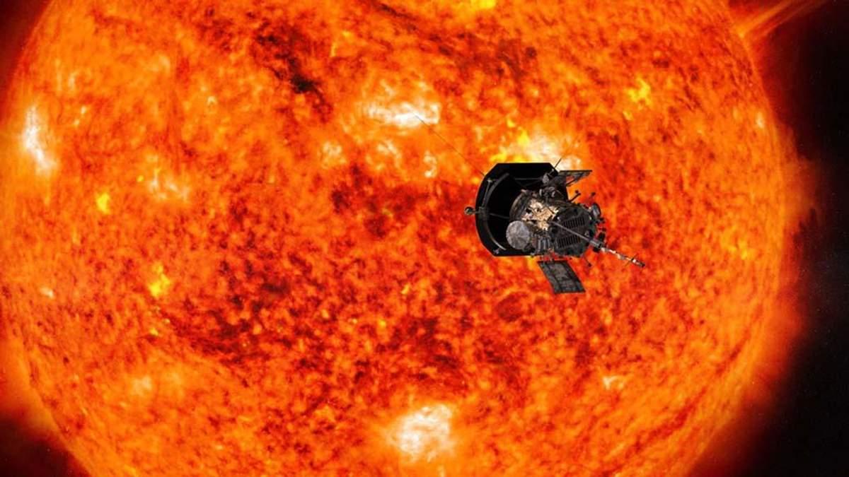 Зонд Parker приближается к Солнцу