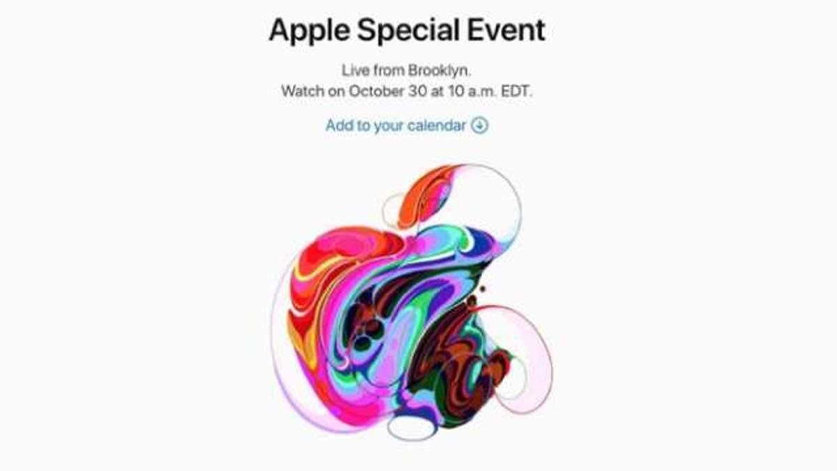 Презентація Apple 30 жовтня: що презентує Apple