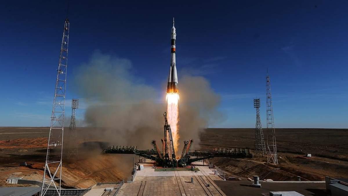 "Запуск ракети-носія ""Союз-ФГ"""