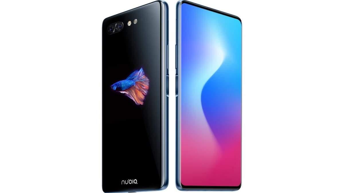 Унікальний смартфон Nubia X