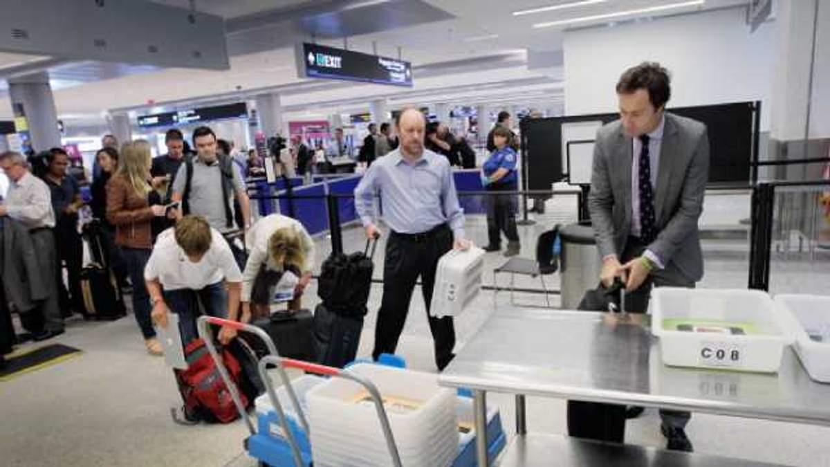 В Європі пасажирів в аеропорту перевірятиме штучний інтелект