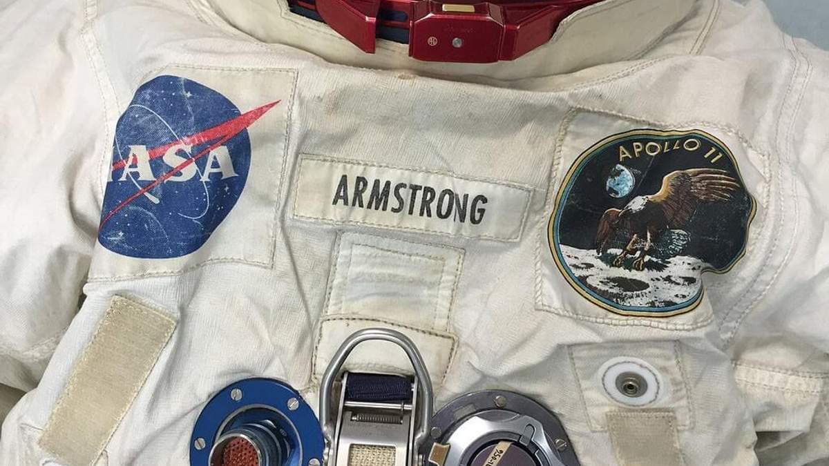 Скафандр Армстронга, побывавший на Луне, продали за 88 тысяч долларов