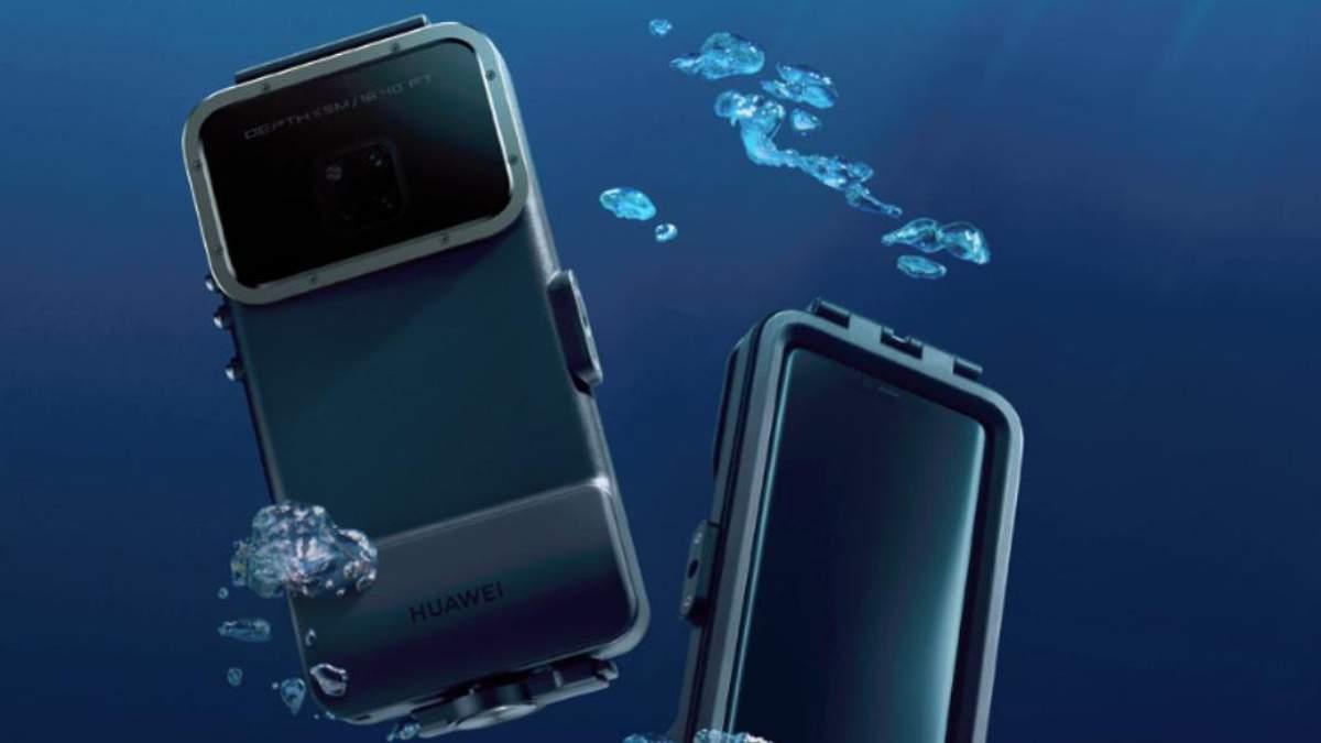 Владельцы смартфонов Mate 20 Pro теперь могут смело снимать под водой