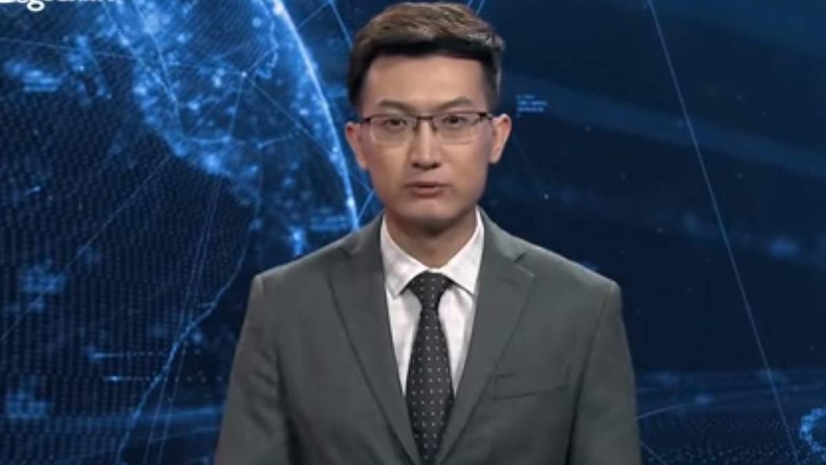 В Китае ведущим стал искусственный интеллект
