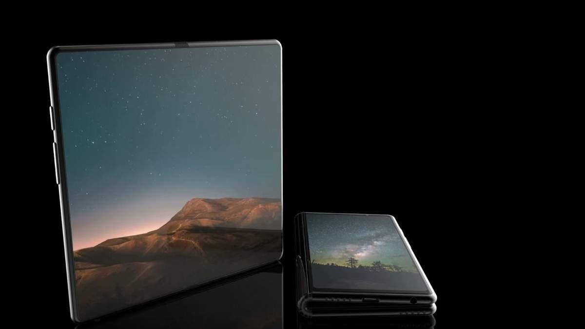Samsung Galaxy F: видео