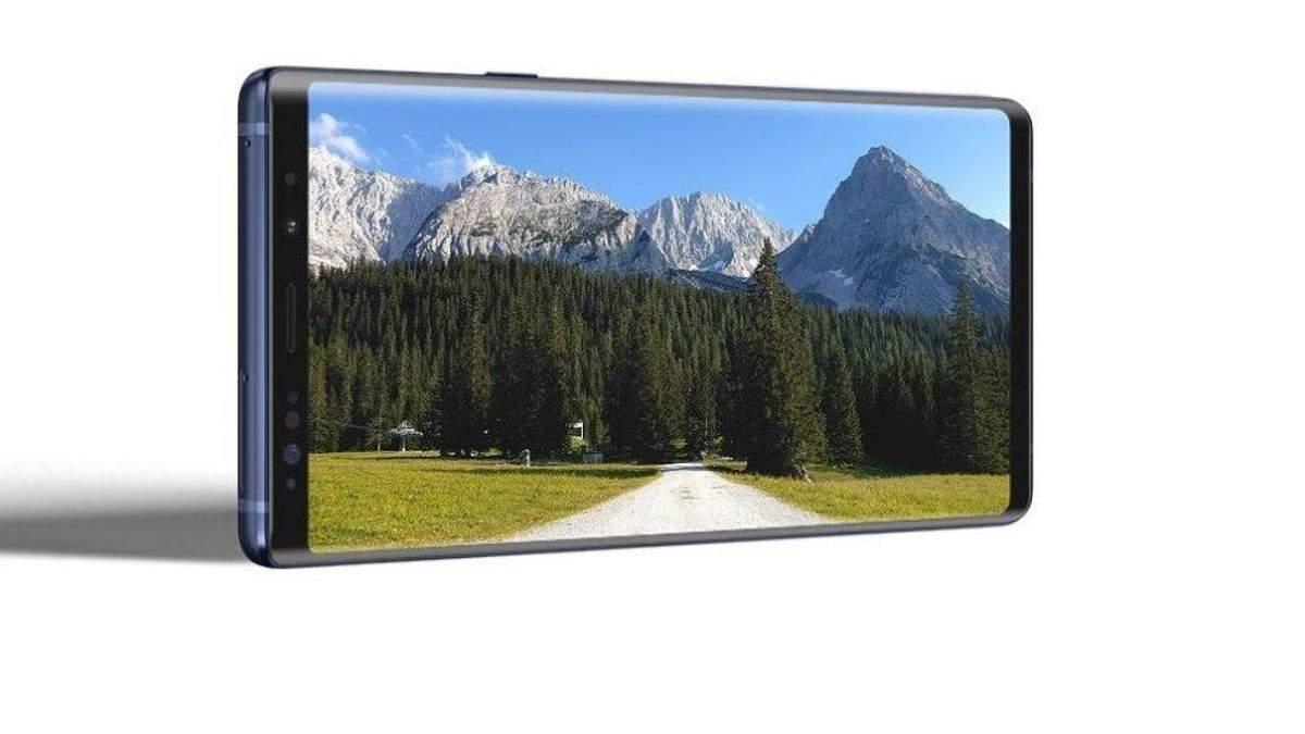 Концепт смартфона Samsung Galaxy Note 10