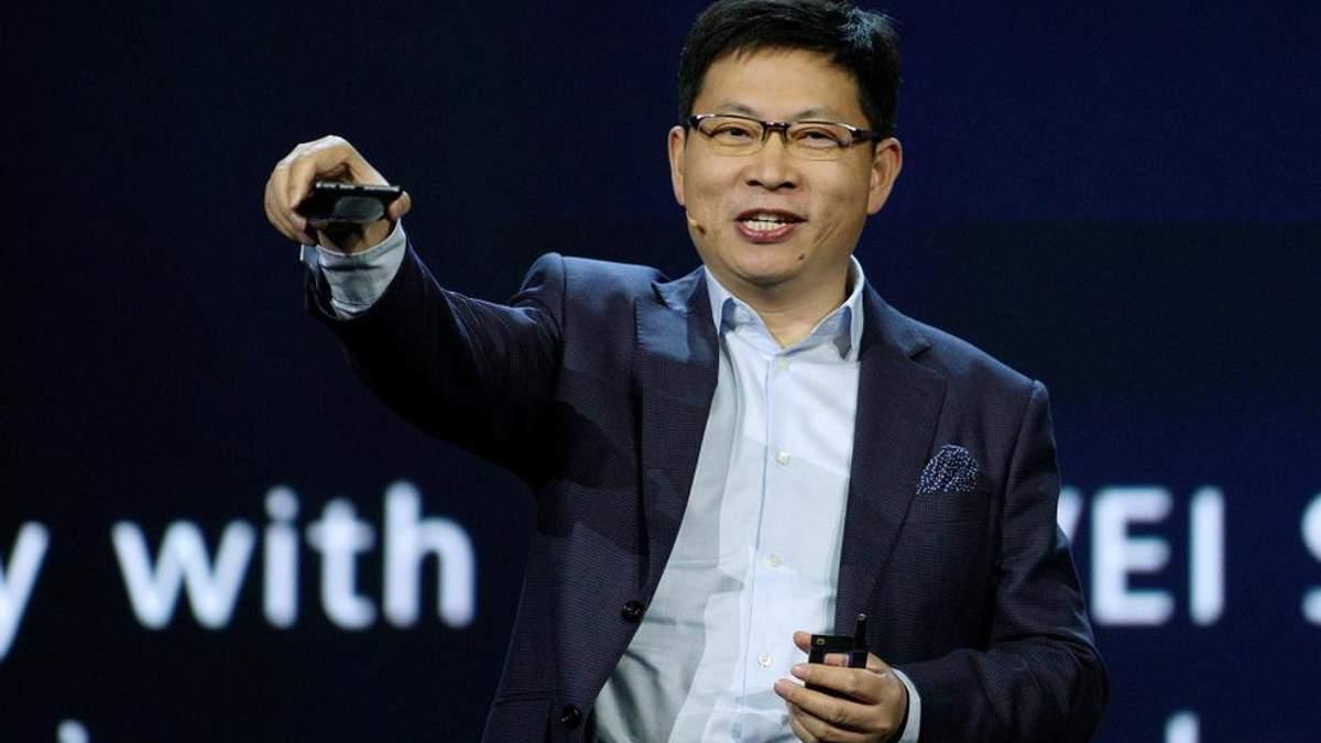Один из топ-менеджеров Huawei Ричард Ю