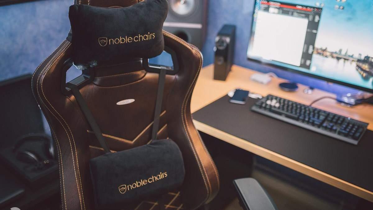 Кресла Noblechairs можно купить в Украине
