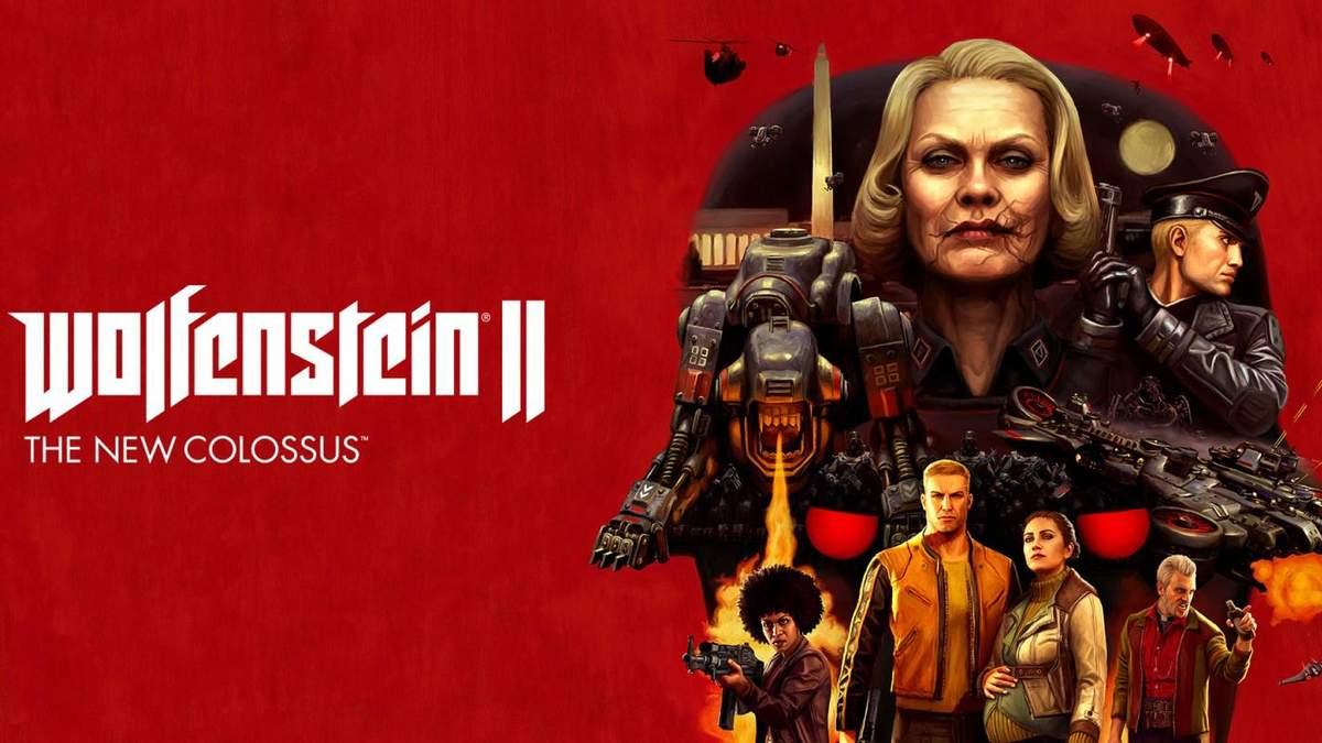 Игра Wolfenstein II: The New Colossus получила поддержку NVIDIA Adaptive Shading