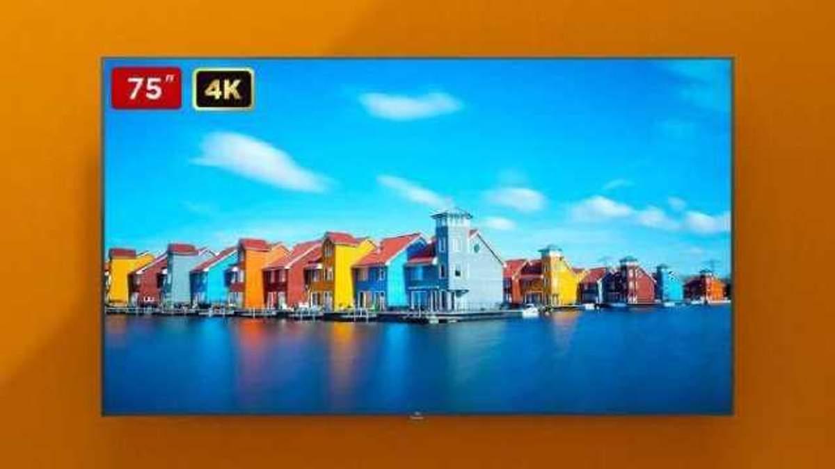 75-дюймовый телевизор Xiaomi Mi TV 4S
