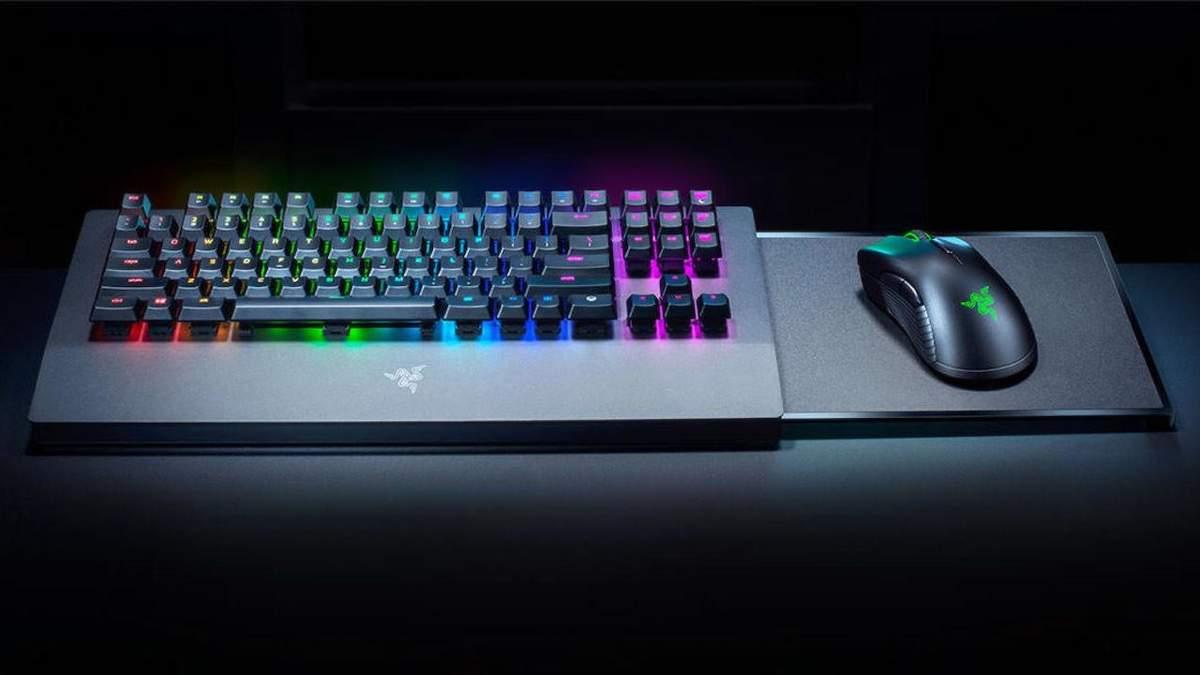 Razer показала клавиатуру и мышку к Xbox One