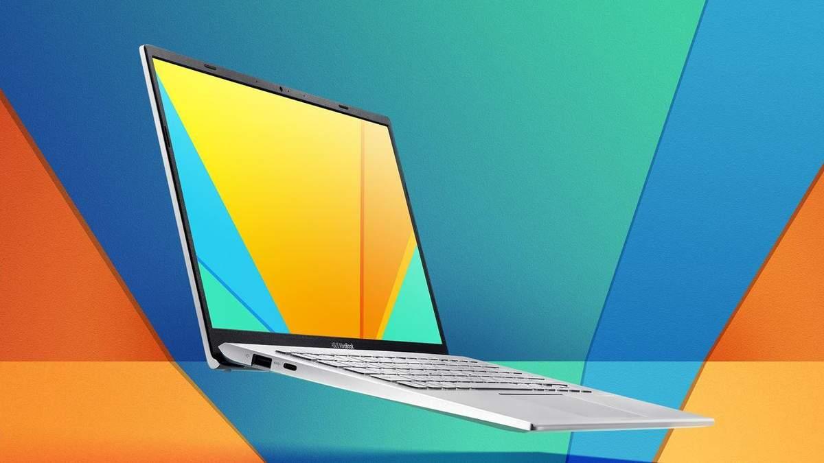 ASUS представила тонкий и стильный ноутбук VivoBook 14: характеристики
