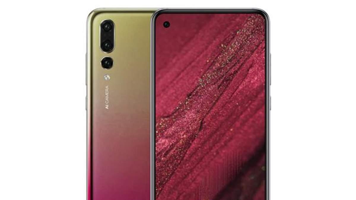Ймовірний дизайн Huawei nova 4