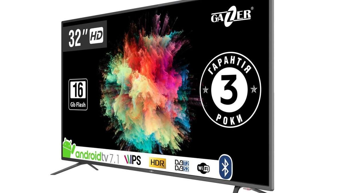 В Украине доступны две модели Gazer TV