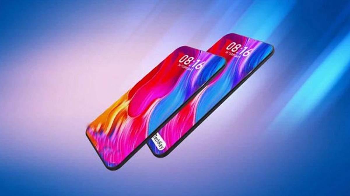 Xiaomi випустить безрамковий смартфон Mi 9: рендери новинки
