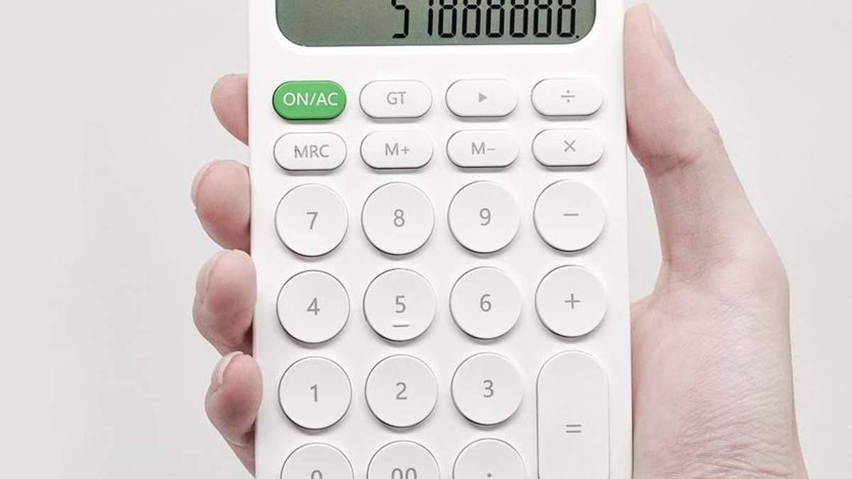 Xiaomi створила калькулятор у приємному дизайні