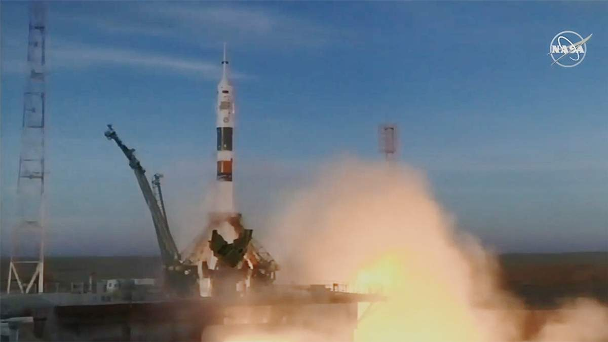 Запуск ракети Союз 3 грудня 2018