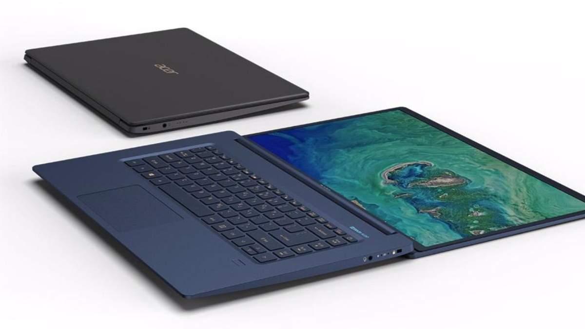 Acer представила в Украине самый легкий 15,6-дюймовый ноутбук в мире