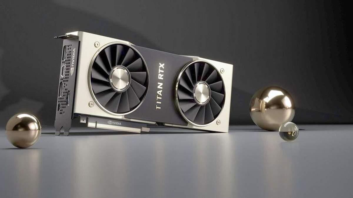 NVIDIA Titan RTX: характеристики та ціна потужної відеокарти
