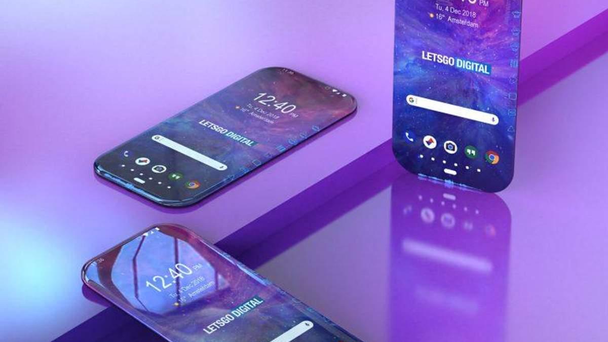 Samsung запатентовала интересный безрамочный смартфон: фото