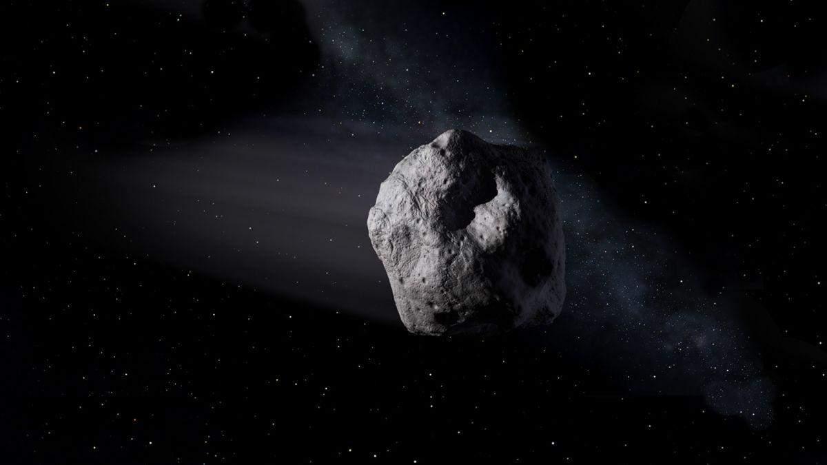 NASA обнародовали видео, на котором вращается астероид Бенну