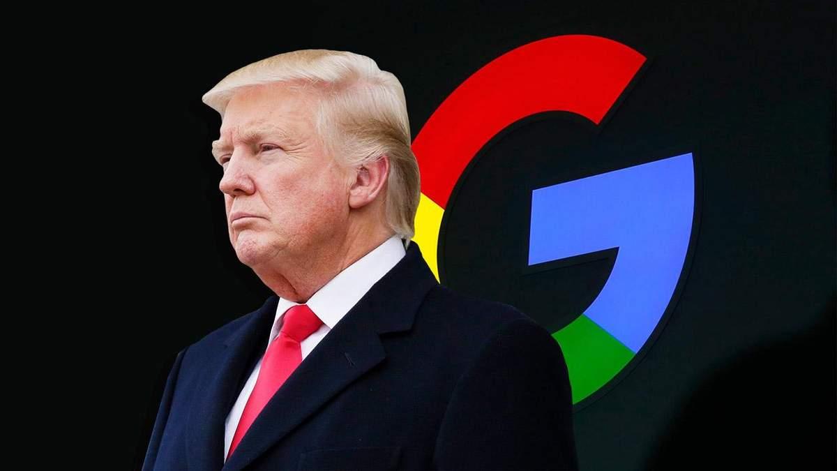 """У Google пояснили, чому на запит """"idiot"""" пошуковик показує Трампа"""