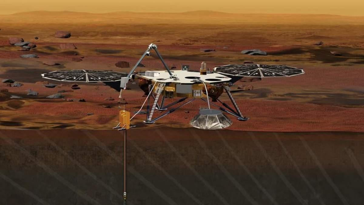 "Апарат InSight  надіслав перше ""селфі"" із Марсу"