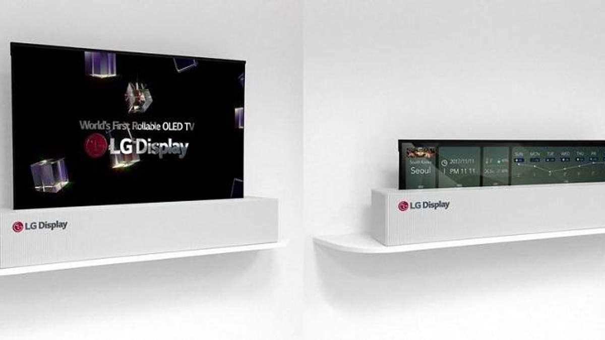 Телевізори LG, що звертаються у трубку, надійдуть у продаж в 2019 році