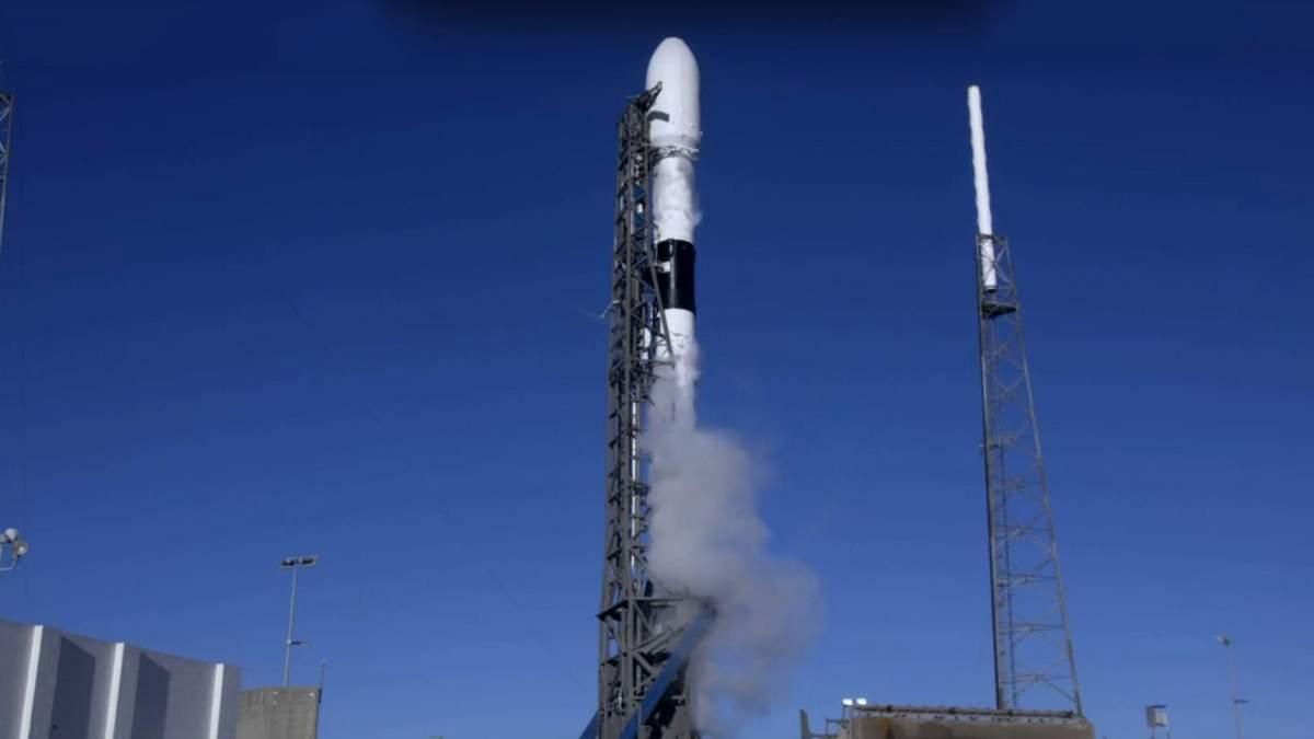 У США здійснили успішний запуск ракети Falcon 9 з новітнім GPS-супутником: відео