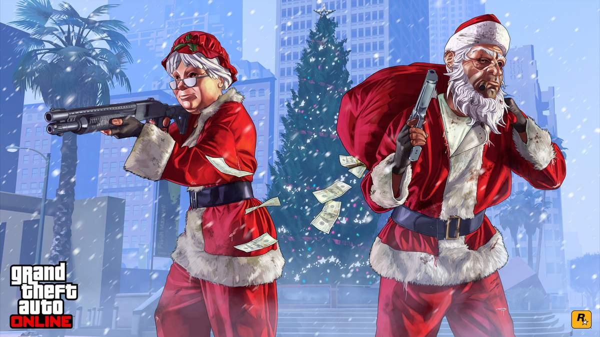 Игра GTA Online получила новогодние обновления