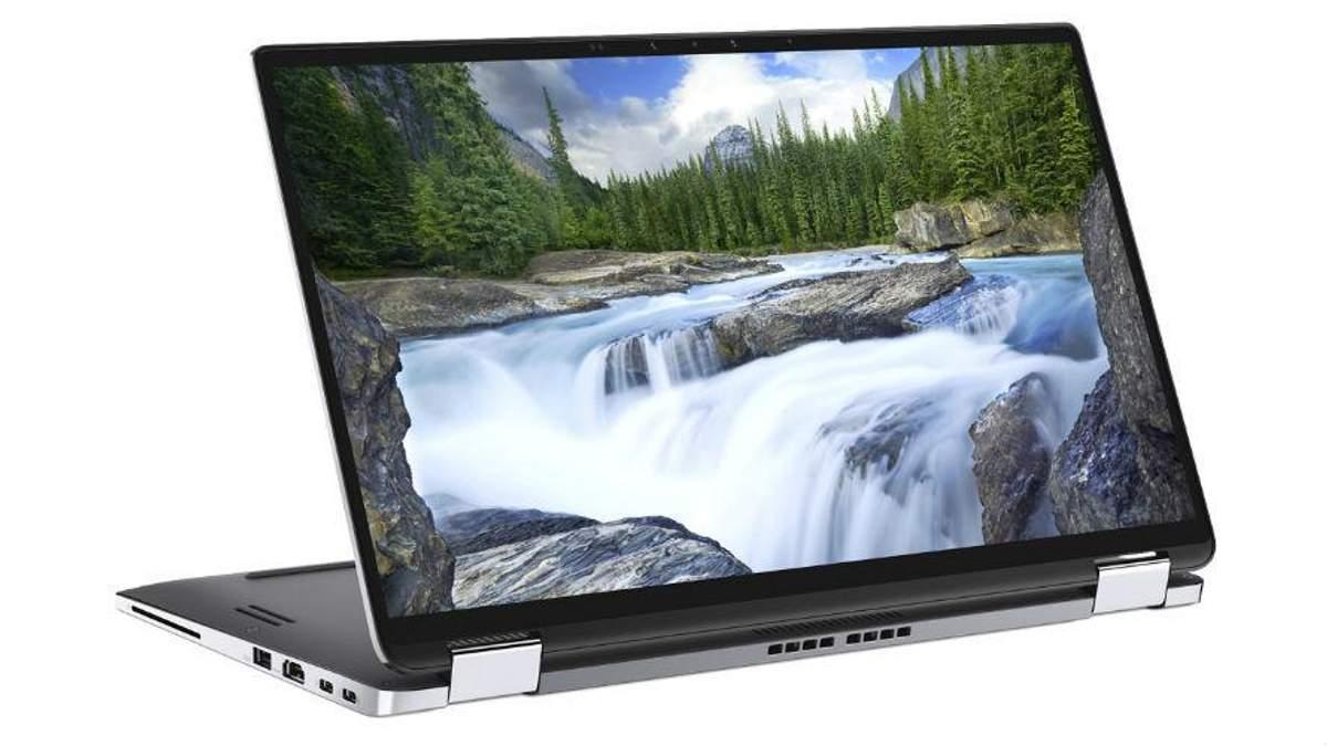 """Dell представила ноутбук-трансформер  з """"шостим чуттям"""", що працює добу без зарядки"""