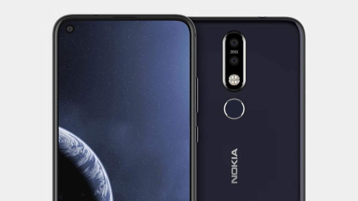 """Nokia планирует представить свой смартфон с """"дырявым"""" дисплеем"""