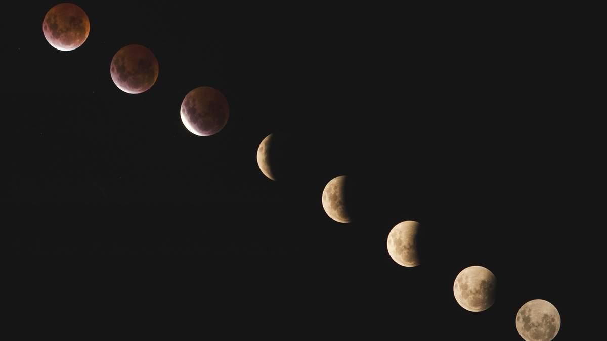 Місячний календар лютий 2019 - фази місяця на лютий - Україна