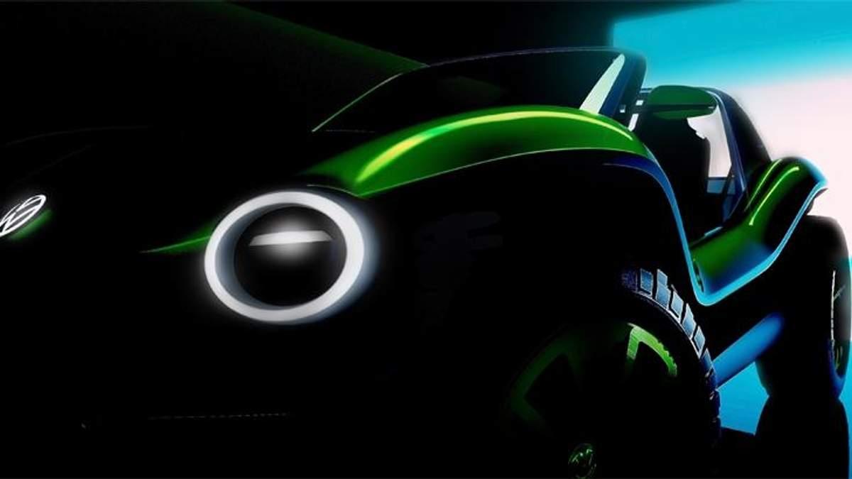 Volkswagen представить цікавий електрокар