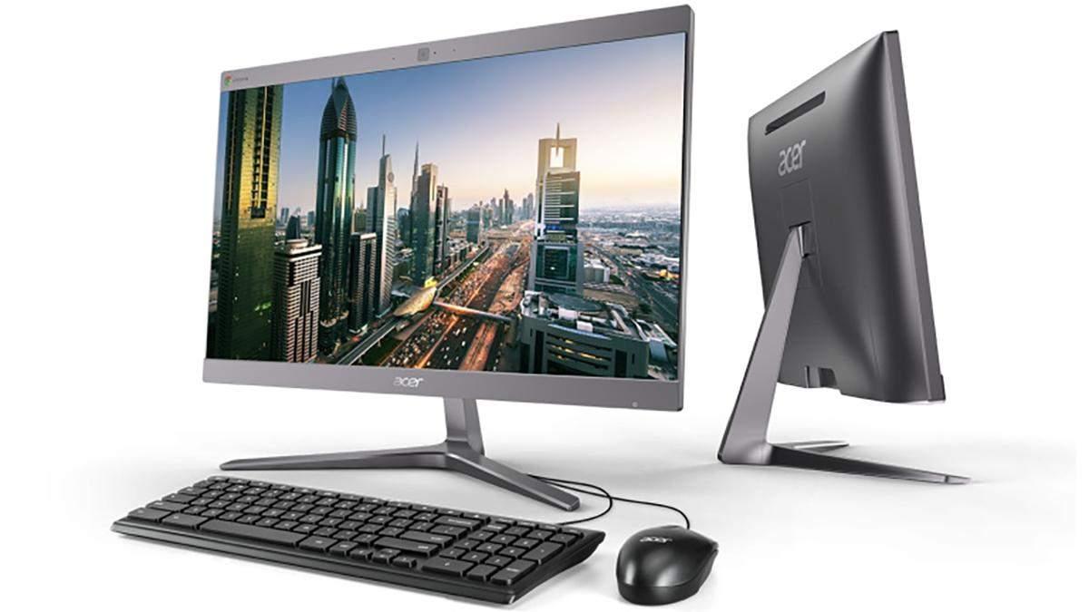 Acer представила нові пристрої на Chrome OS: характеристики та ціна