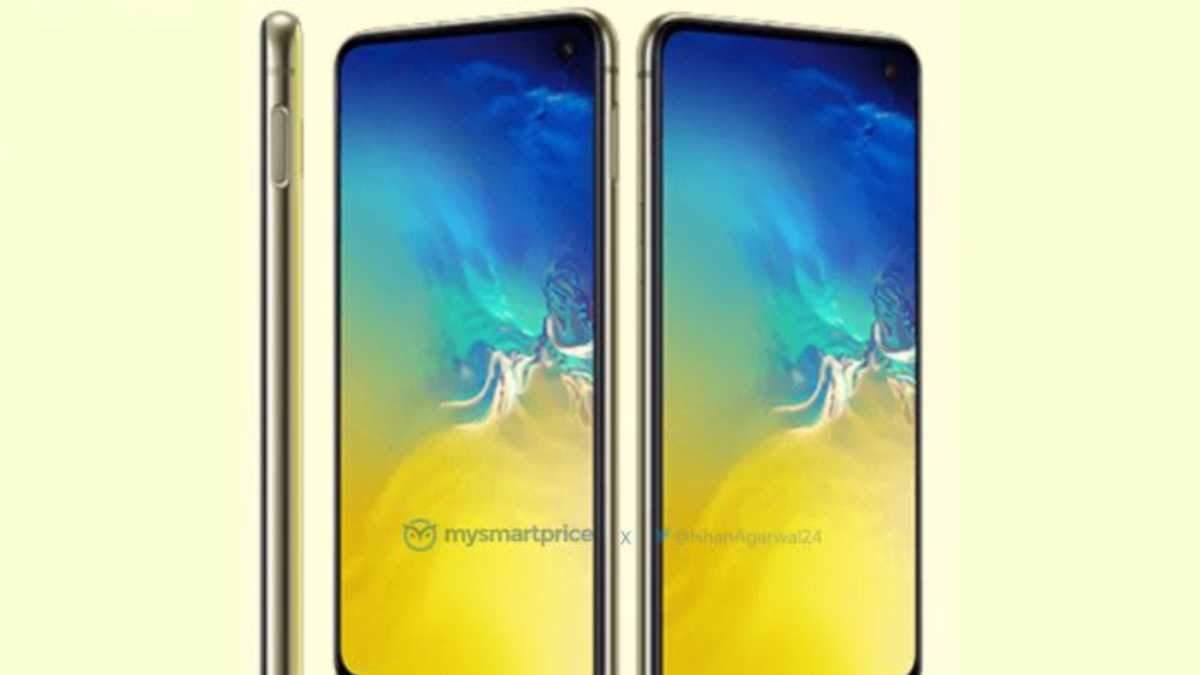 Samsung Galaxy S10e засвітився на рендерах